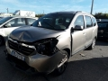 Voiture accidentée : DACIA LODGY