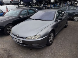 Voiture accidentée : PEUGEOT 406