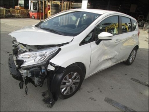 Voiture accidentée : NISSAN NOTE