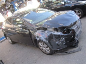 Voiture accidentée : FORD FOCUS