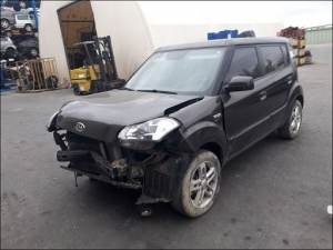 Voiture accidentée : KIA SOUL