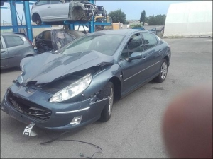 Voiture accidentée : PEUGEOT 407