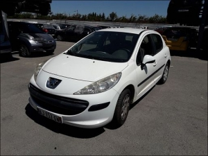 Voiture accidentée : PEUGEOT 207