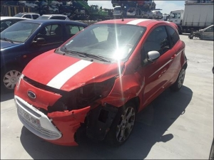 Voiture accidentée : FORD KA