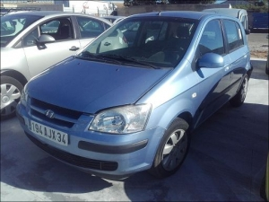 Voiture accidentée : HYUNDAI GETZ
