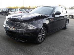 Voiture accidentée : BMW 118D