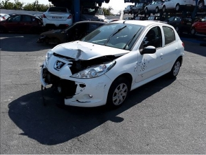 Voiture accidentée : PEUGEOT 206+