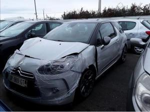 Voiture accidentée : CITROEN DS3