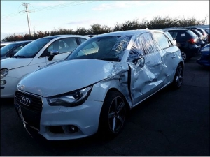 Voiture accidentée : AUDI A1