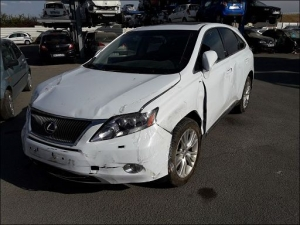 Voiture accidentée : LEXUS RX