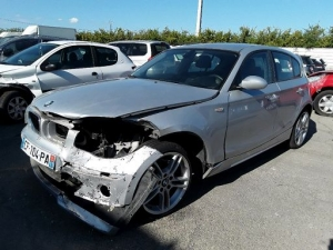 Voiture accidentée : BMW SERIE