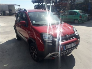 Voiture accidentée : FIAT PANDA