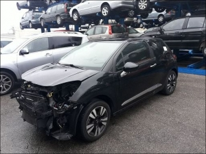 Voiture accidentée : DS DS3