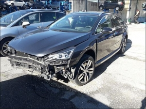 Voiture accidentée : PEUGEOT 508