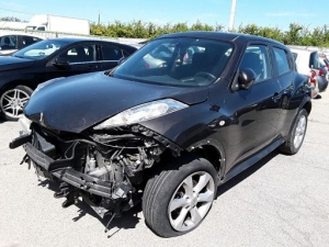 Voiture accidentée : NISSAN JUKE