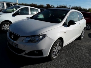 Voiture accidentée : SEAT IBIZA