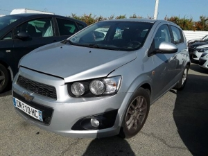 Voiture accidentée : CHEVROLET AVEO