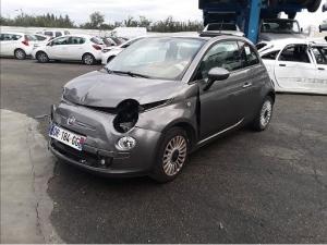 Voiture accidentée : FIAT 500